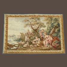 R ditions de tapisseries anciennes galerie girard lyon tapis anciens au - Tapisserie murale ancienne ...