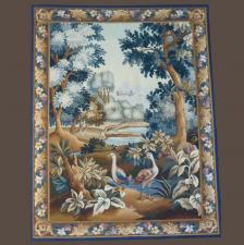 Tapisserie contemporaine Aubusson-XXème-LP3303