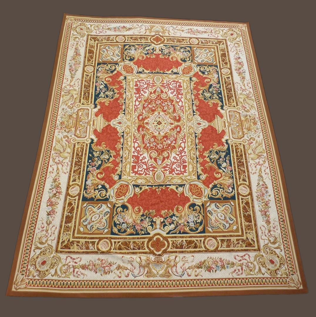 tapis d aubusson galerie girard lyon tapis anciens