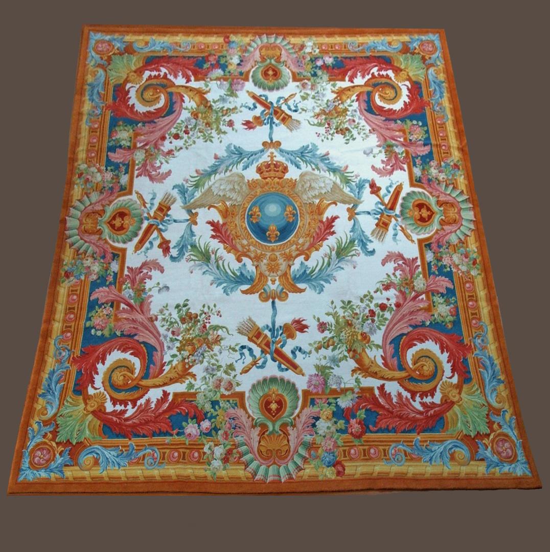 tapis de la savonnerie galerie girard lyon tapis anciens aubusson kilims tapisseries. Black Bedroom Furniture Sets. Home Design Ideas